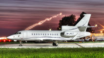 M-JPLC - Private Dassault Falcon 900 series aircraft