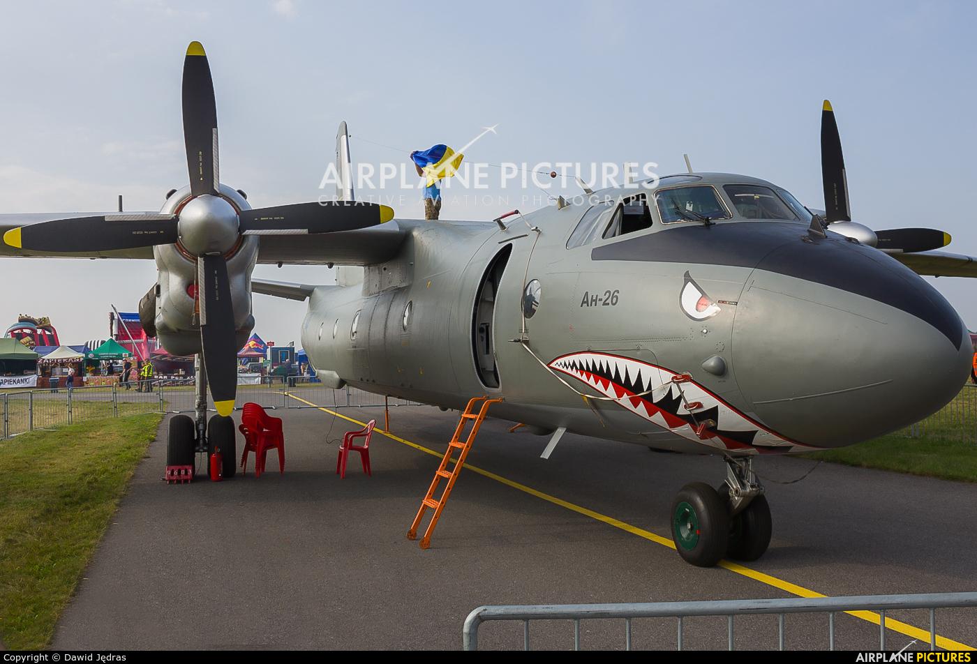 Ukraine - Air Force 44 aircraft at Radom - Sadków