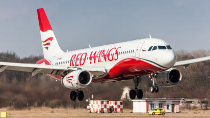 VP-BWY - Red Wings Airbus A320