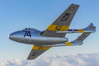 WZ507 - Vampire Preservation Group de Havilland DH.115 Vampire T.11