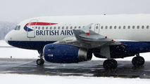 G-DBCK - British Airways Airbus A319 aircraft