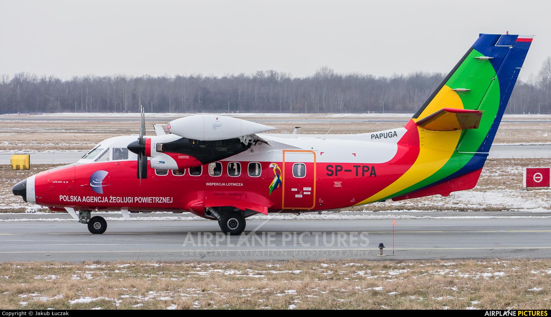 Polish Air Navigation Services Agency - PAZP SP-TPA aircraft at Warsaw - Frederic Chopin