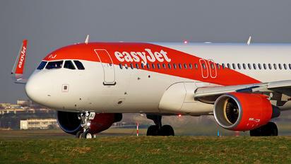 G-EZRJ - easyJet Airbus A320