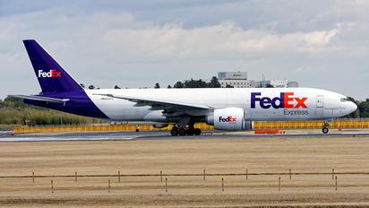 N842FD - FedEx Federal Express Boeing 777F