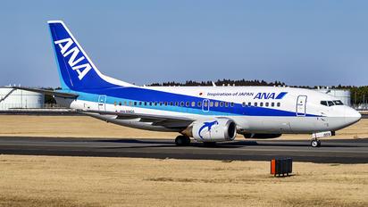 JA359K - ANA Wings Boeing 737-500