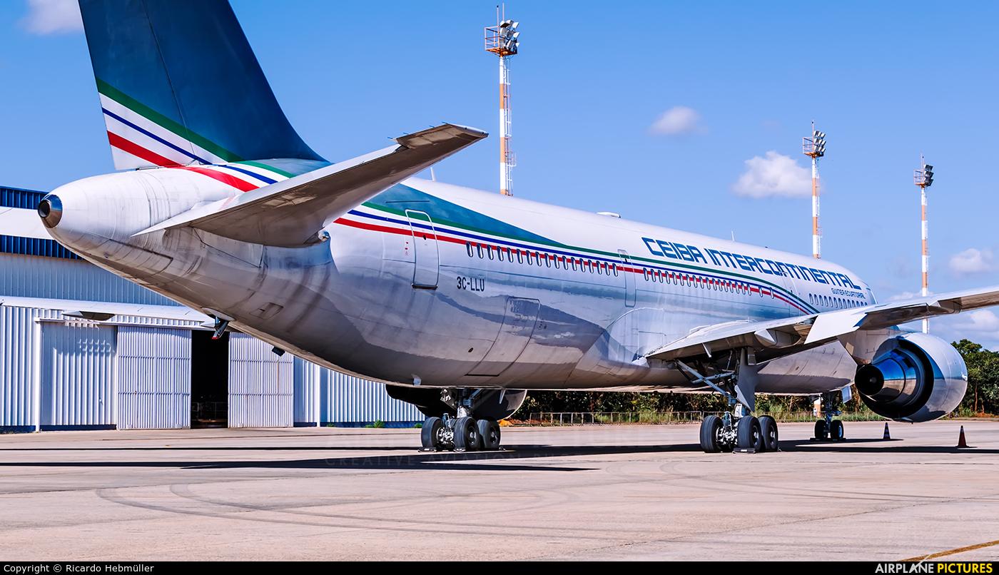 Ceiba Intercontinental 3C-LLU aircraft at Brasília - Presidente Juscelino Kubitschek Intl