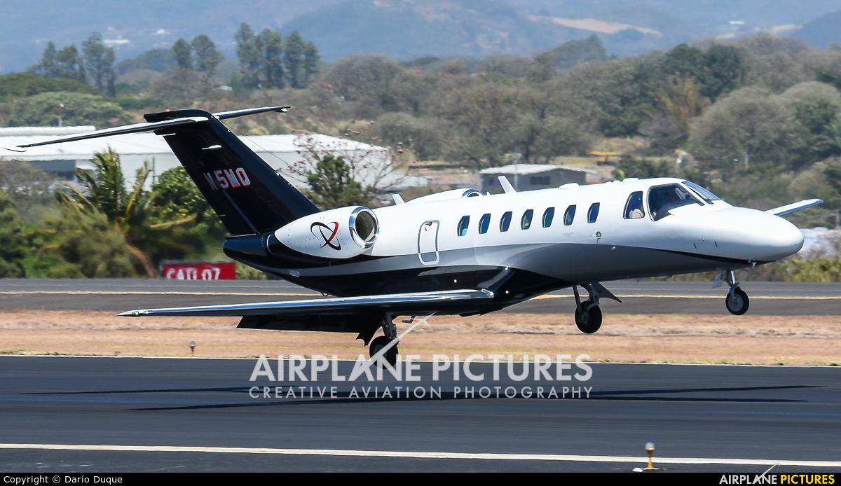 Private N5MQ aircraft at San Jose - Juan Santamaría Intl