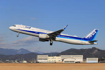 JA112A - ANA - All Nippon Airways Airbus A321