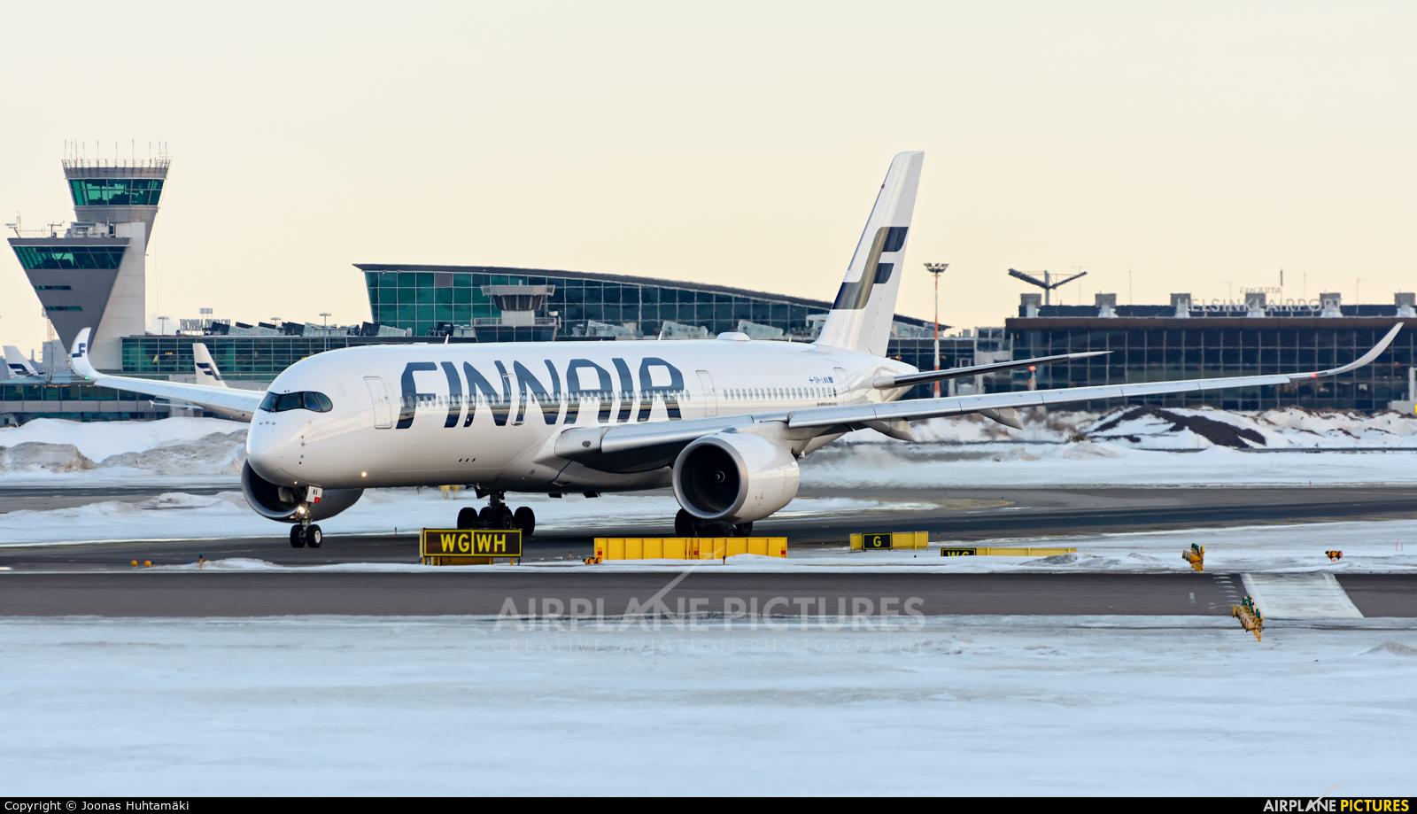Finnair OH-LWA aircraft at Helsinki - Vantaa