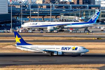 JA737N - Skymark Airlines Boeing 737-800