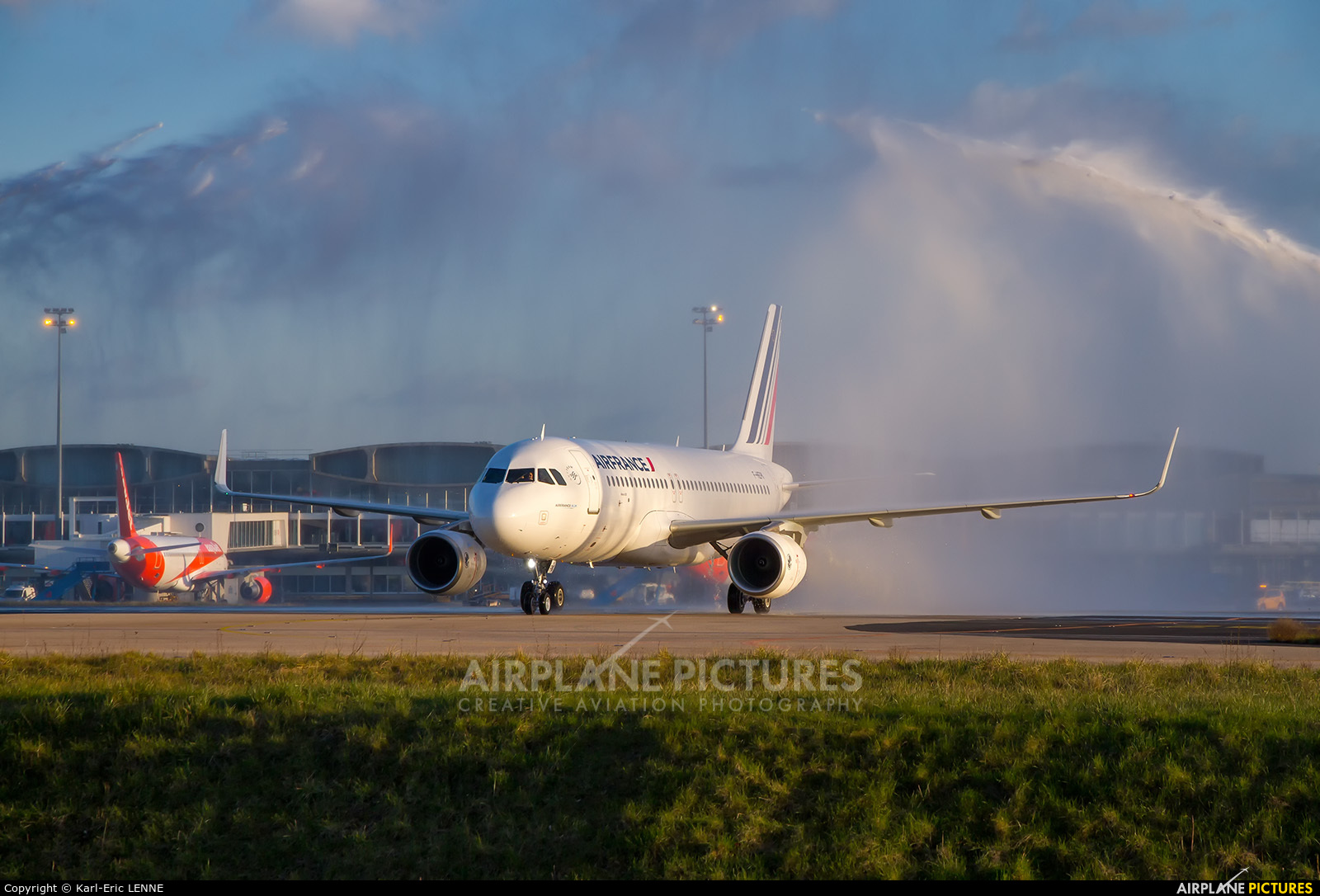 Air France F-HEPK aircraft at Paris - Charles de Gaulle