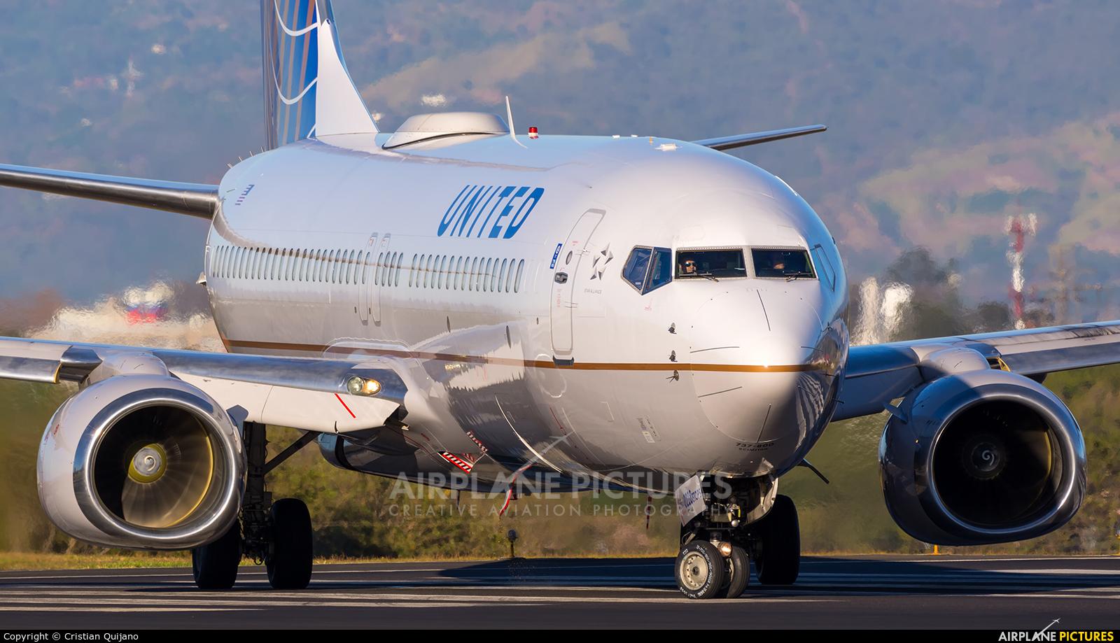United Airlines N14228 aircraft at San Jose - Juan Santamaría Intl