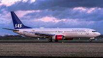LN-RPO - SAS - Scandinavian Airlines Boeing 737-800 aircraft