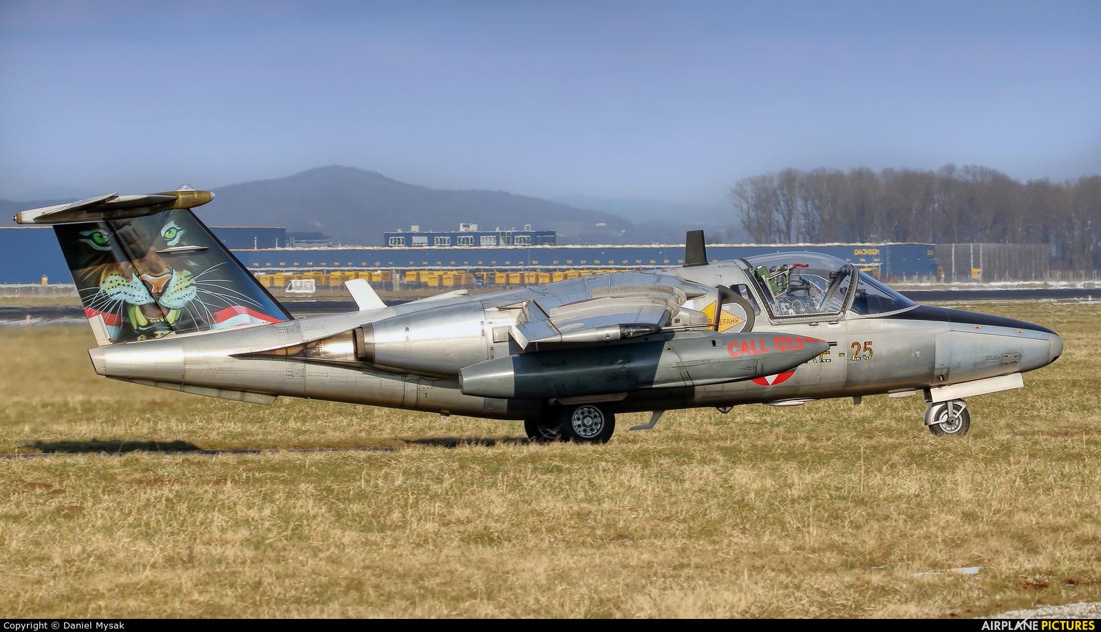 Austria - Air Force 1125 aircraft at Linz