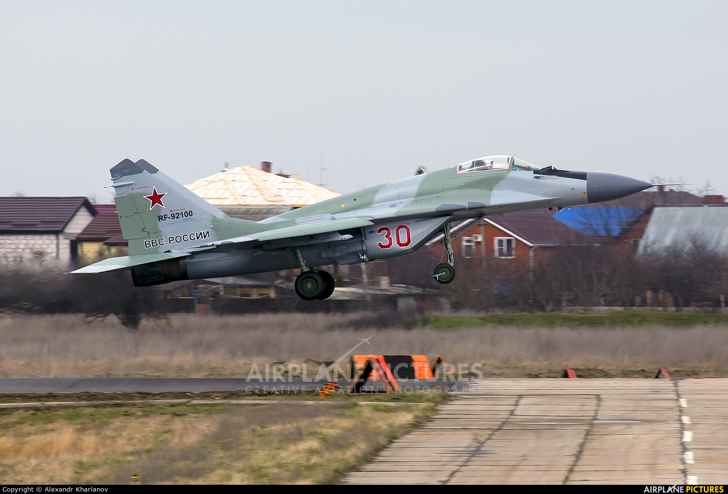 Russia - Air Force 30 aircraft at Krasnodar Tsentralny