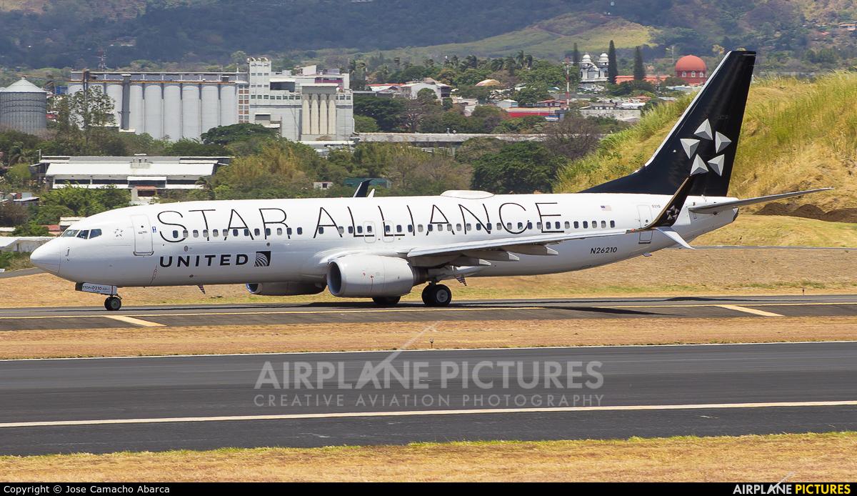 United Airlines N26210 aircraft at San Jose - Juan Santamaría Intl