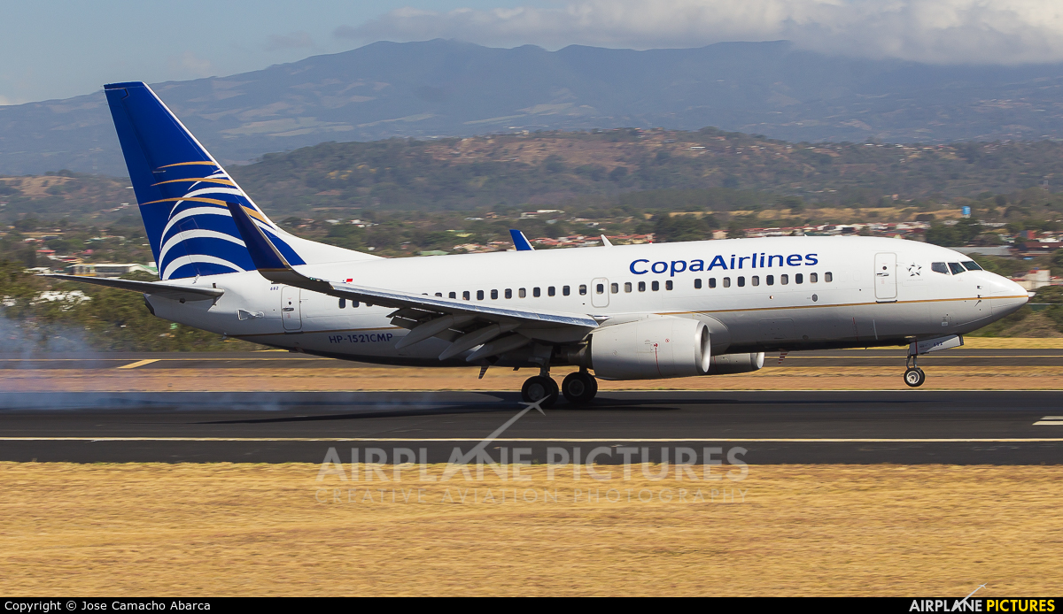 Copa Airlines HP-1521CMP aircraft at San Jose - Juan Santamaría Intl