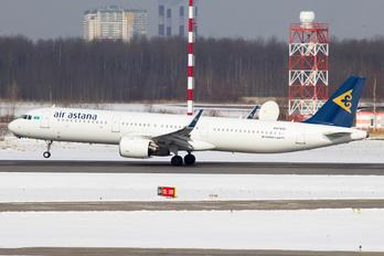 P4-KDC - Air Astana Airbus A321 NEO
