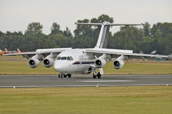 QQ102 - UK - QinetiQ British Aerospace BAe 146-100/Avro RJ70