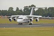 QQ102 - UK - QinetiQ British Aerospace BAe 146-100/Avro RJ70 aircraft