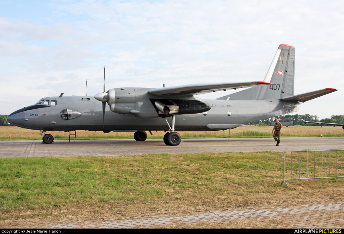 Hungary - Air Force 407 aircraft at Uden - Volkel