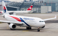 EI-GFH - Malaysia Airlines Airbus A330-200 aircraft
