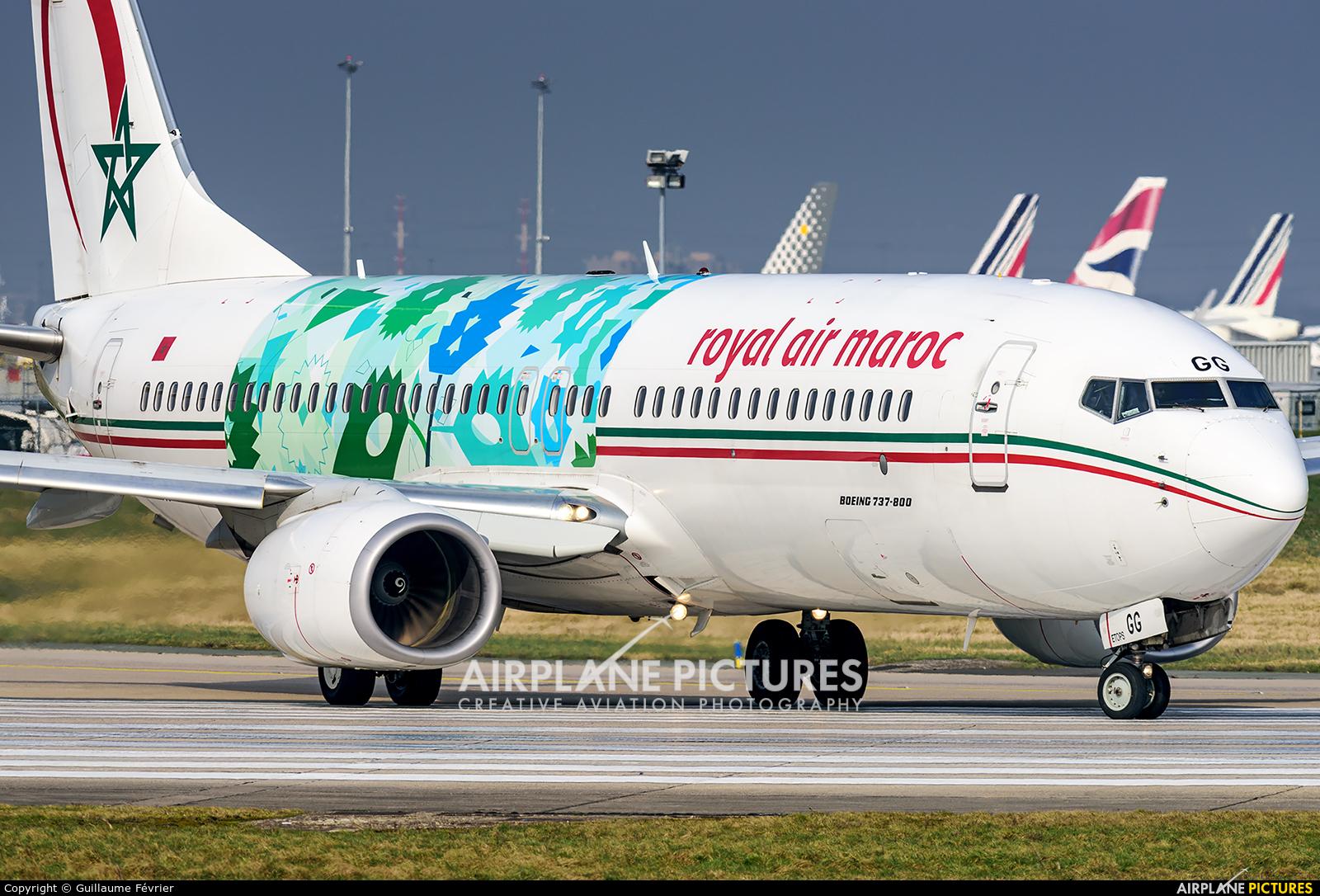Royal Air Maroc CN-RGC aircraft at Paris - Orly