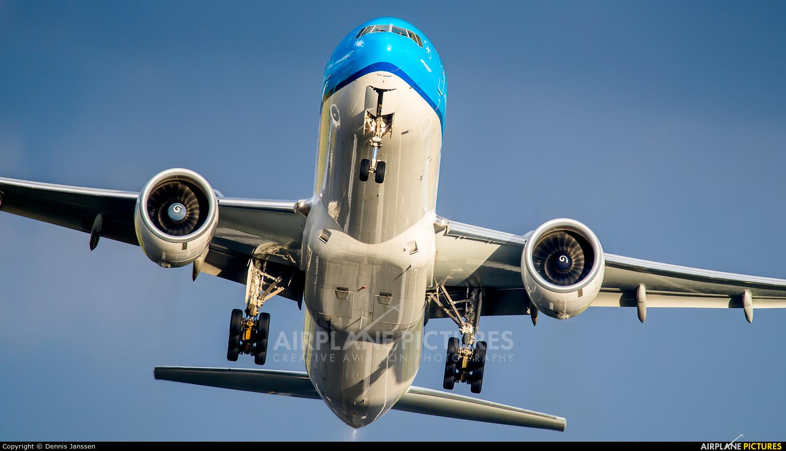 KLM PH-BVR aircraft at Amsterdam - Schiphol