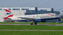 G-EUUB - British Airways Airbus A320 aircraft