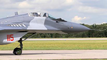 115 - Poland - Air Force Mikoyan-Gurevich MiG-29A