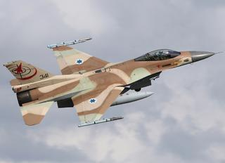 341 - Israel - Defence Force General Dynamics F-16C Barak