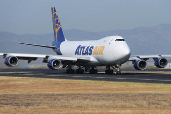 N419MC - Atlas Air Boeing 747-400F, ERF