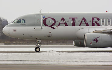 A7-AHU - Qatar Airways Airbus A320