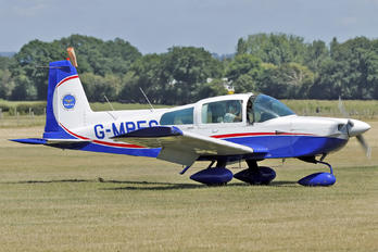 G-MPFC - Metropolitan Police Flying Club. Grumman American AA-5B Tiger