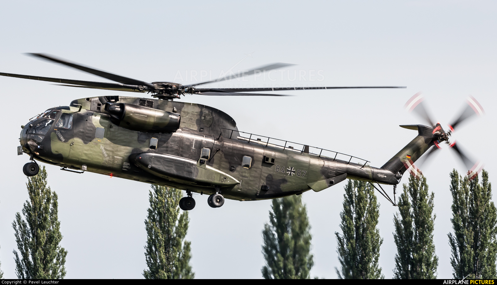 Germany - Army 84 + 87 aircraft at Pardubice