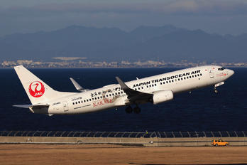 JA04RK - JAL - Japan Transocean Air Boeing 737-700