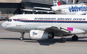 OY-KBO - SAS - Scandinavian Airlines Airbus A319