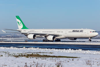EP-MMQ - Mahan Air Airbus A340-600