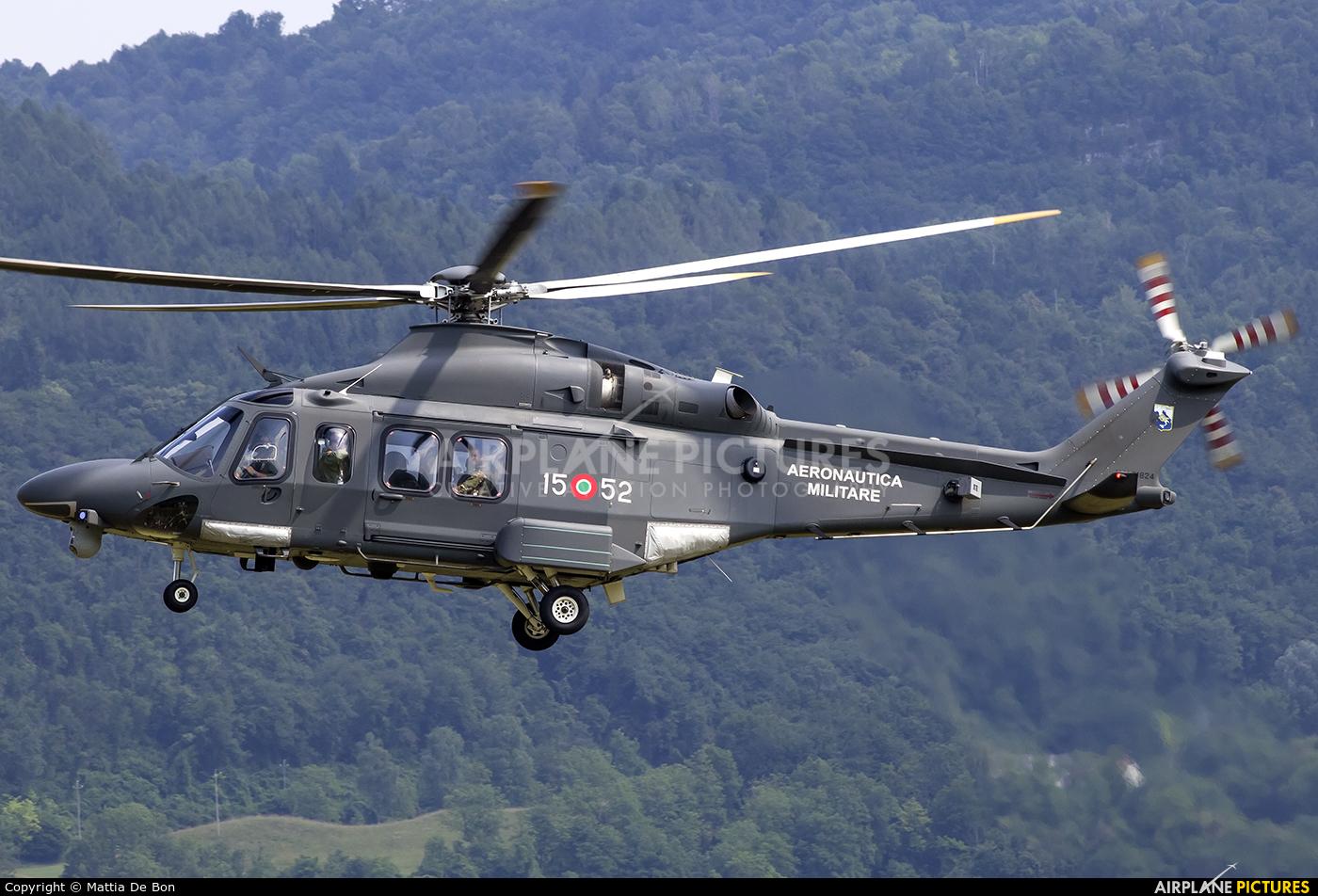 Italy - Air Force MM81824 aircraft at Belluno - Arturo Dell