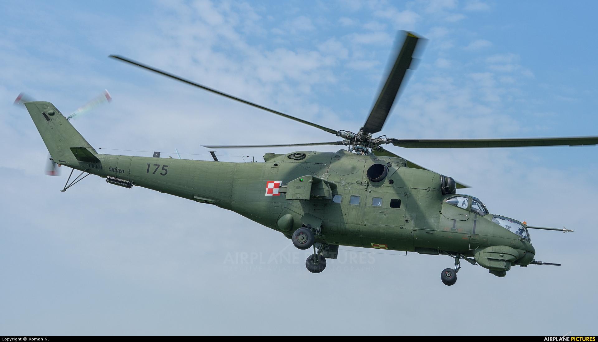 Poland - Army 175 aircraft at Inowrocław