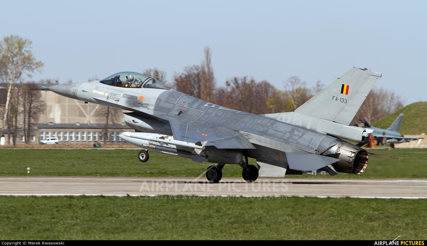 Belgium - Air Force FA-133 aircraft at Malbork