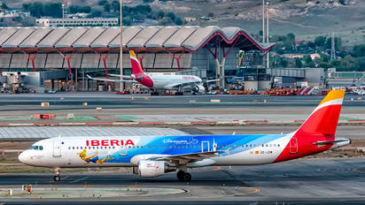 EC-JZM - Iberia Airbus A321