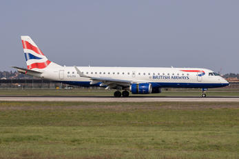 G-LCYJ - British Airways - City Flyer Embraer ERJ-190 (190-100)