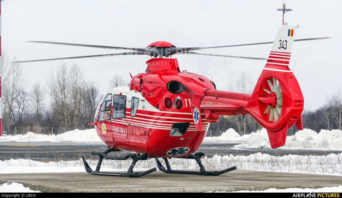 Romanian Emergency Rescue Service 343 aircraft at Craiova