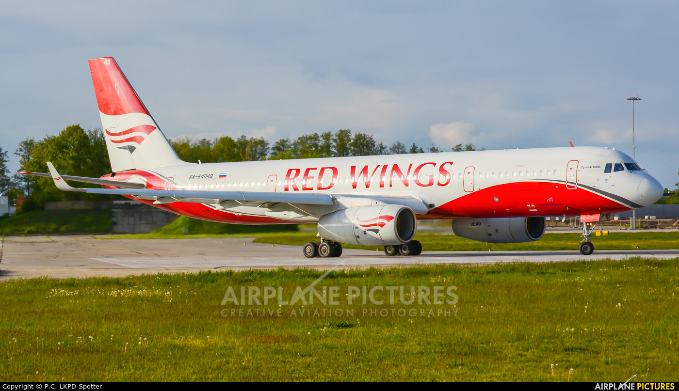 Red Wings RA-64049 aircraft at Pardubice
