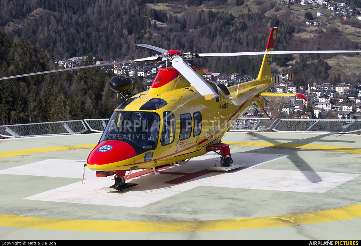INAER I-KORE aircraft at Belluno - Arturo Dell