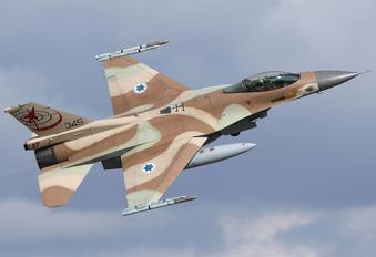 345 - Israel - Defence Force General Dynamics F-16C Barak