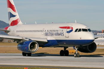 G-DBCG - British Airways Airbus A319