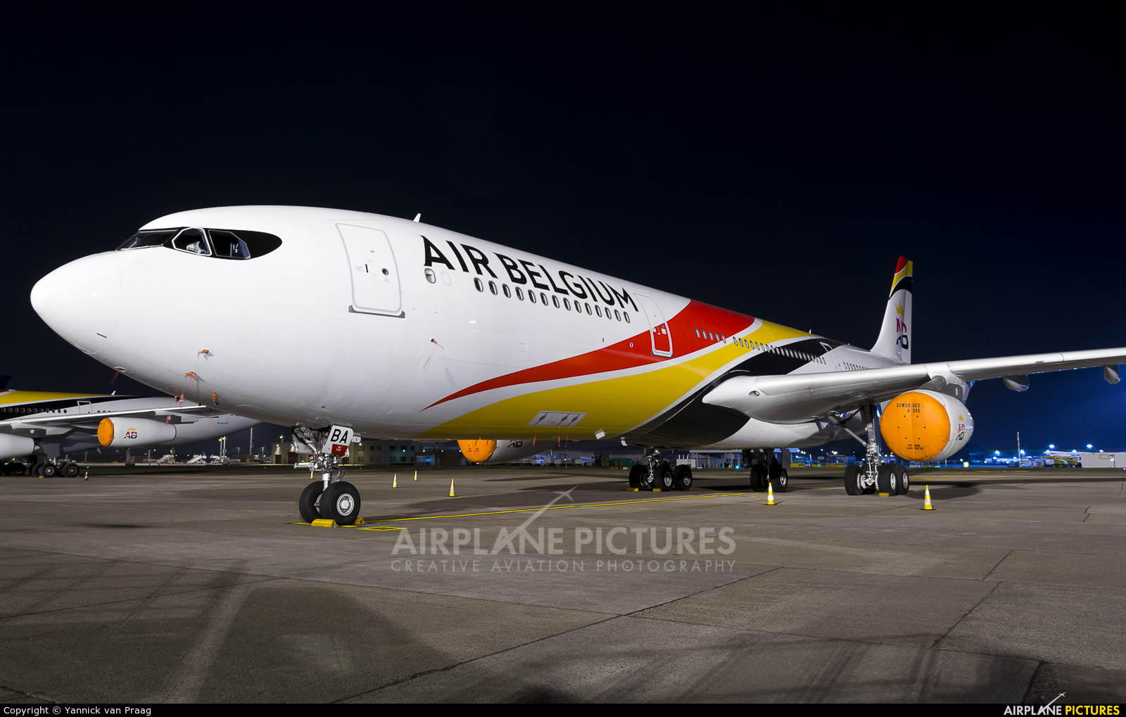 Air Belgium OO-ABA aircraft at Brussels - Zaventem