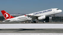 TC-JPH - Turkish Airlines Airbus A320 aircraft